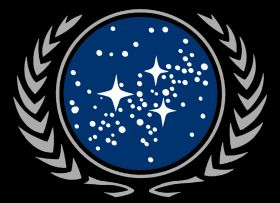 Seal of the United Federation of Planets (24th Century) (FASA 2012; Original B&W Image)